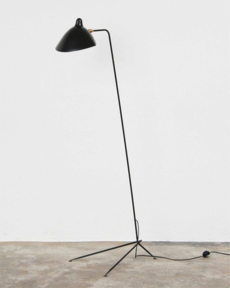 serge mouille style standing lamp lampadaire super normal objects. Black Bedroom Furniture Sets. Home Design Ideas