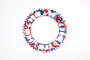 Image of 6061 - aarn - aamerica edition - 144#47/49 Track Chainring (144BCD//47/49-Tooth)