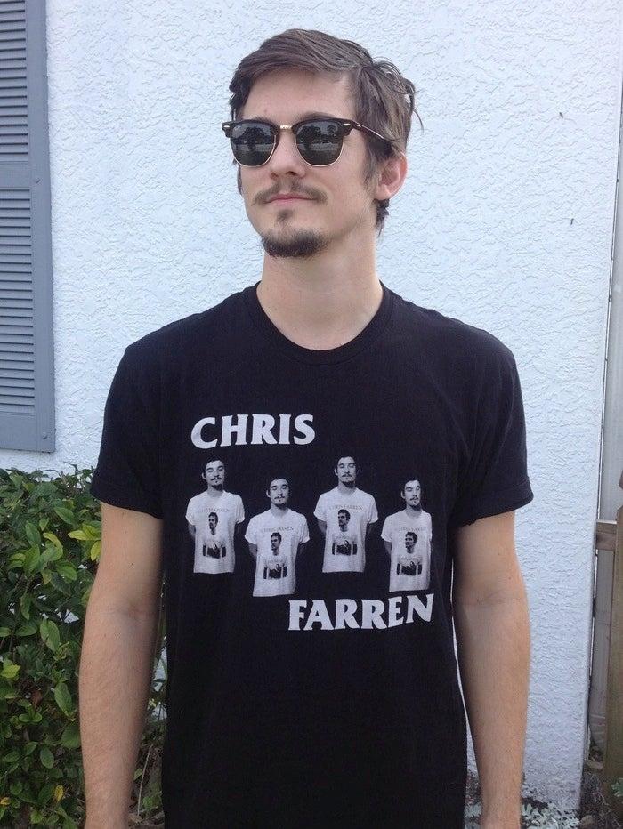 Image of CHRIS FARREN PUNK LEGEND
