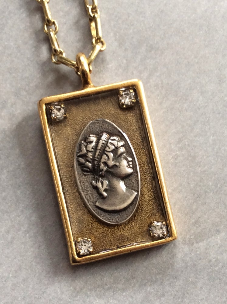 Image of cameo necklace 2