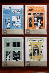 Image of Everyday Greece: All four art prints