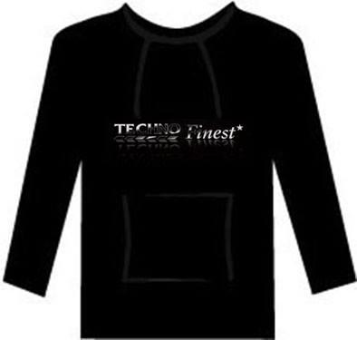 Image of Techno Finest hoodie (Gildan softstyle)