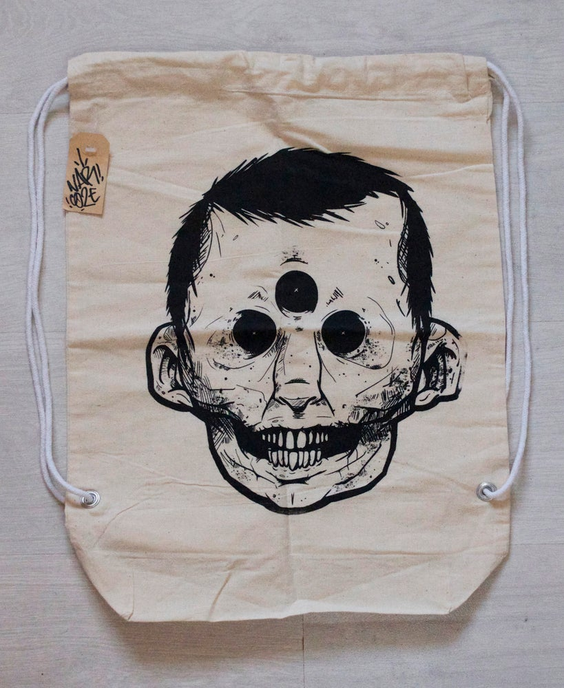 Image of Inner eye cotton backpack
