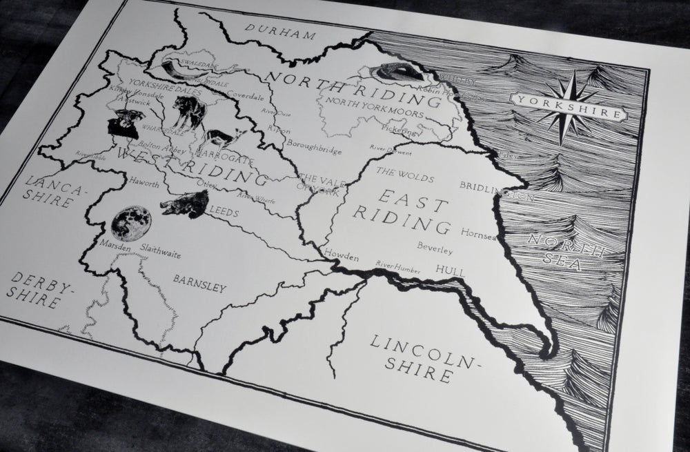 Image of LOTN Map of Yorkshire