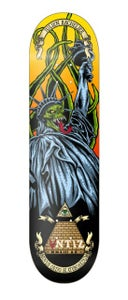 Image of Antiz skateboard deck - Julien Bachelier