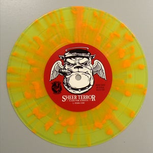 "Image of CANCER BENEFIT SPECIAL - SHEER TERROR ""Kaos For Kristin"" 7"" Vinyl"