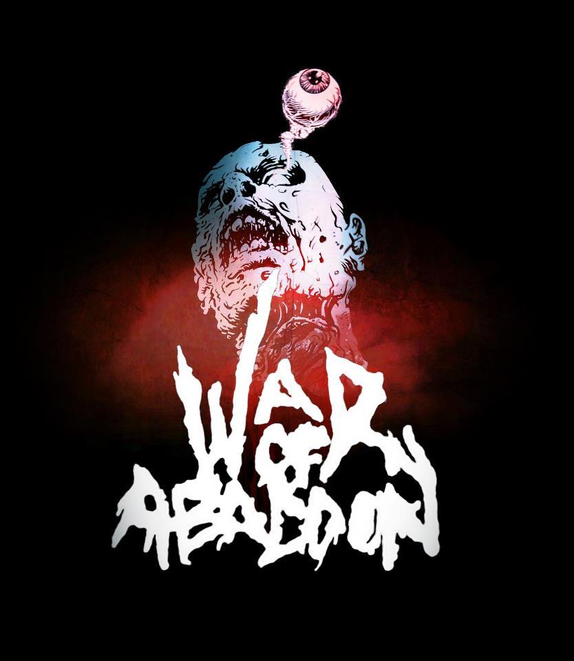 Image of War Of Abaddon - Zombie Head T-Shirt