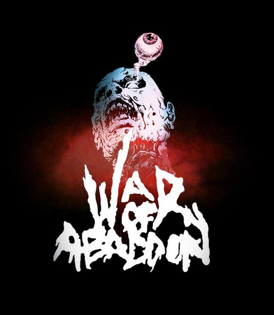 Image of War Of Abaddon - Zombie Head T-Shirt