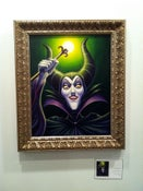 "Image of ""Maleficent"" - 16"" x 20"" original acrylic painting"