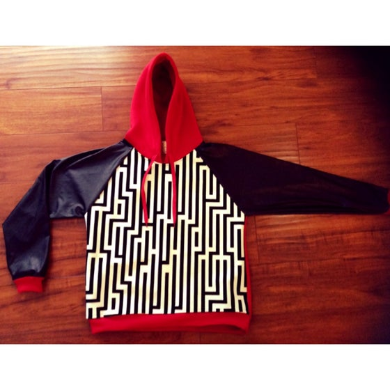 Image of Red Pyramid Hoody