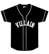 Image of Villain Baseball Jersey ( Black)