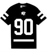 Image of 90 Hockey Tee ( Black)