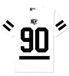 Image of 90 Hockey Tee ( White)