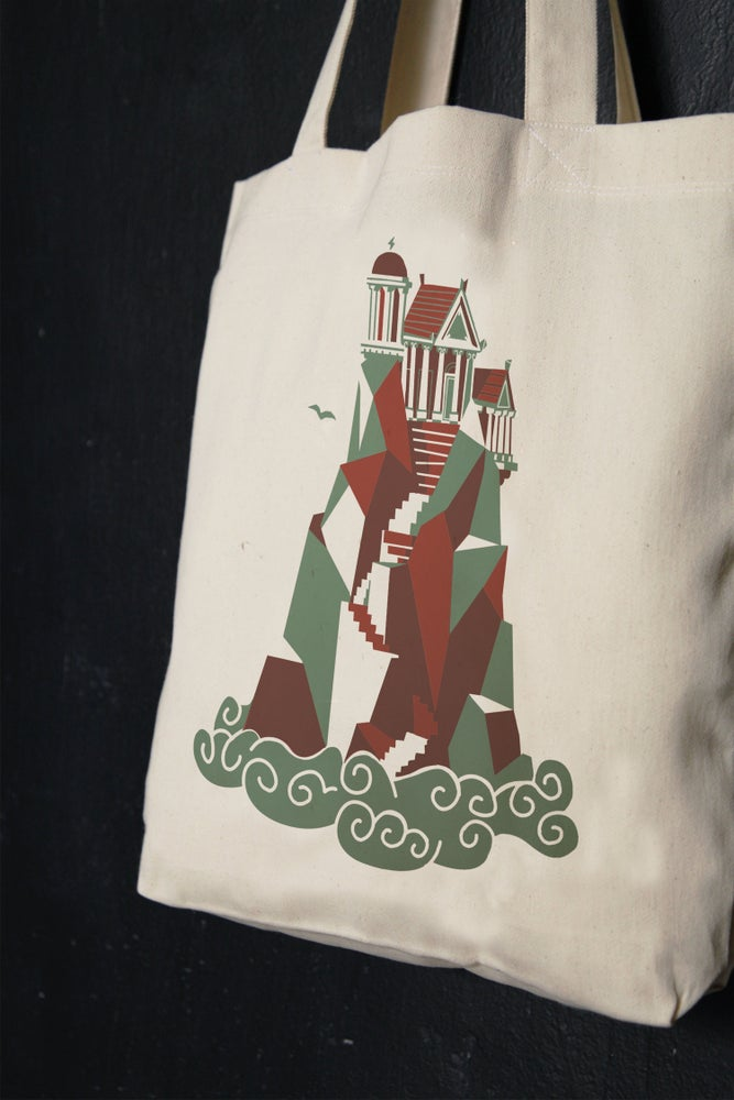 """Image of """"Home Of The Gods"""" shopper tote bag"""