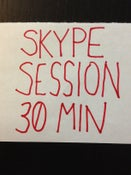 Image of 30 MINUTE SKYPE SESSION