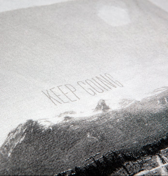 Image of Keep Going Tee (New Silver)