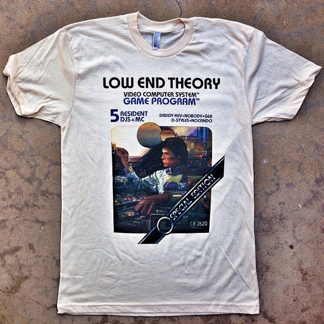 Image of LOW END THEORY Retro Gamer Tee