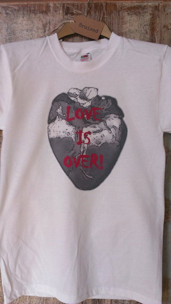 "Image of ""Love Is Over"" T-shirt"