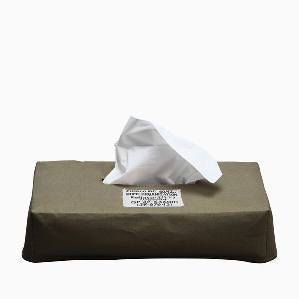 Image of PUEBCO Laminated Fabric Tissue Box Cover