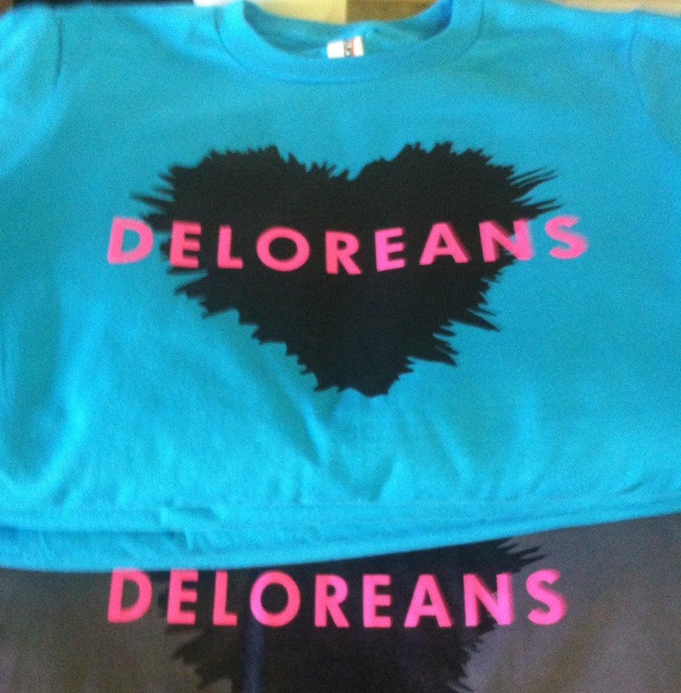 Image of Deloreans T-Shirt (2014)