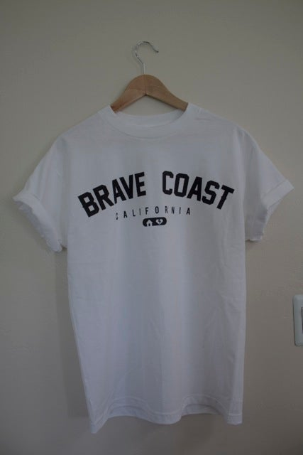 Image of White Athletic Tee
