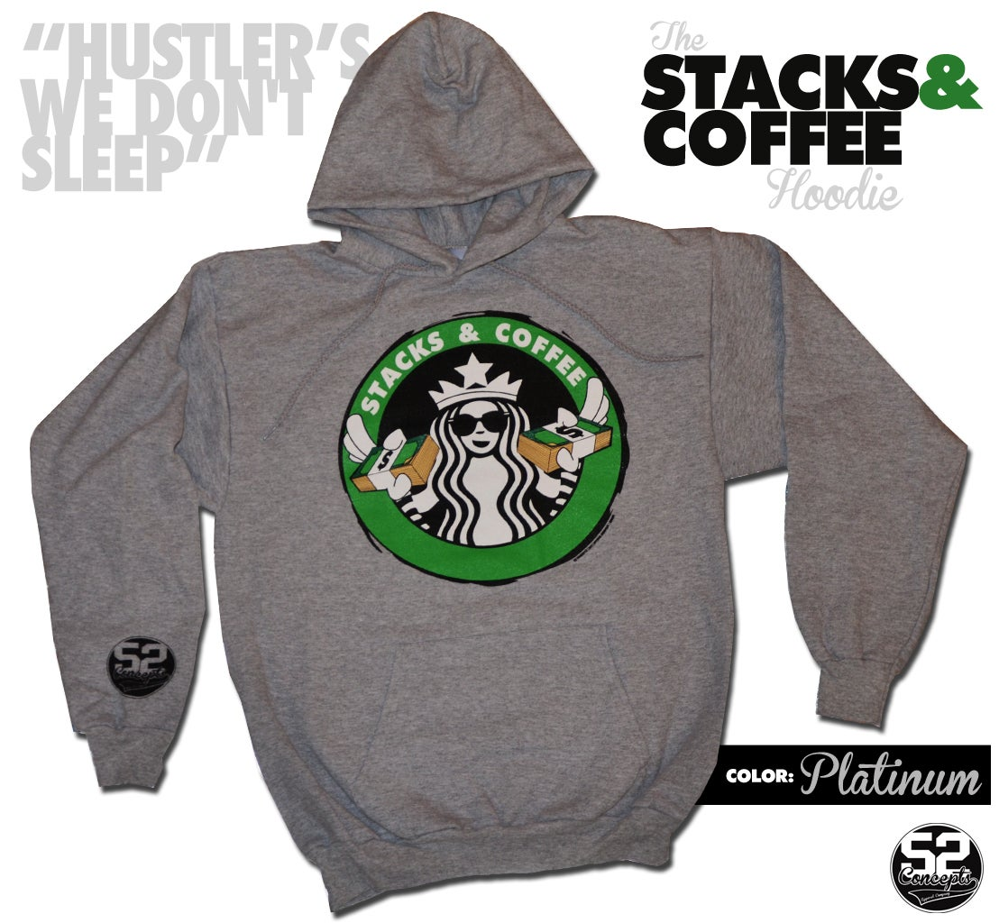Image of STACKS & COFFEE Hoodie