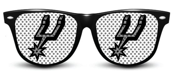 Image of My Custom Specks San Antonio Spurs Specks (Logo)