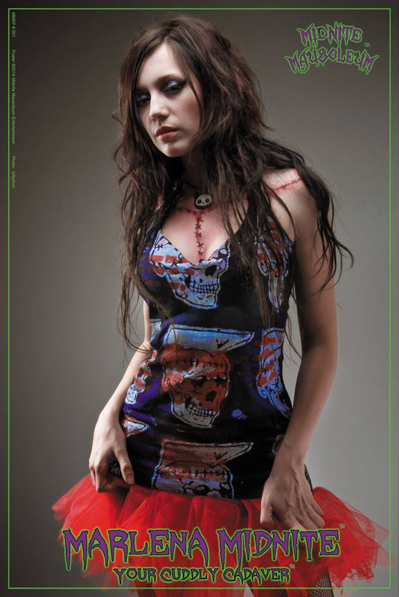 Image of Marlena Midnite 24 x 36 Poster.