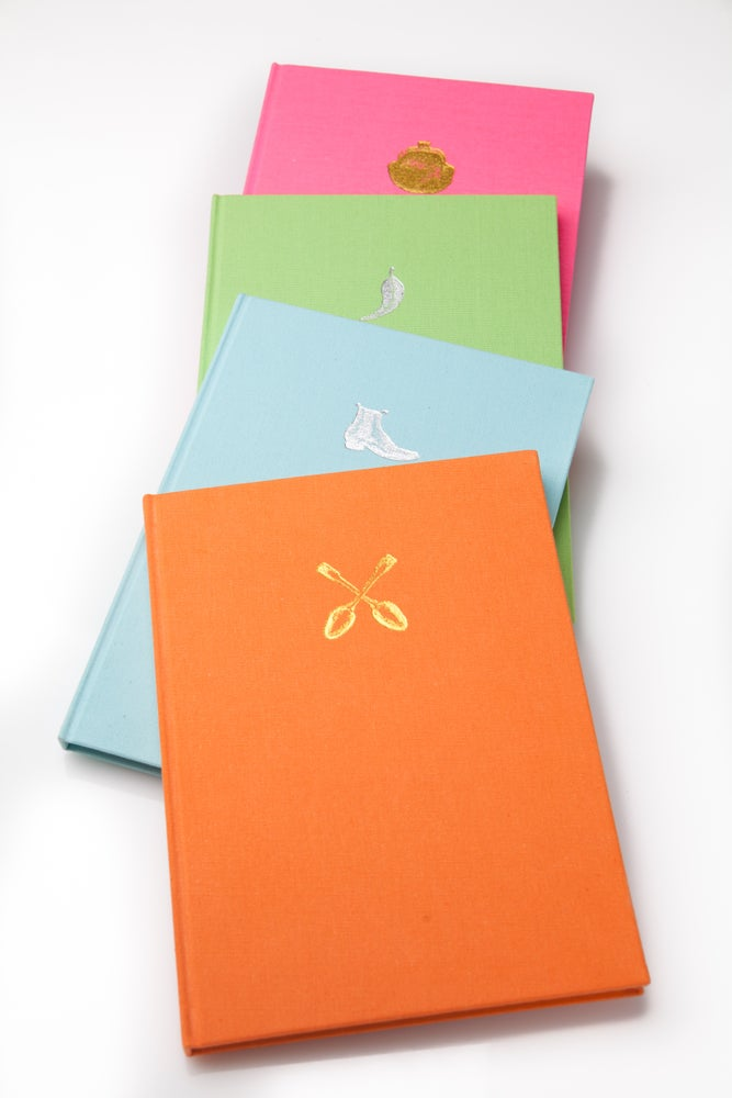 Image of Cloth covered notebook
