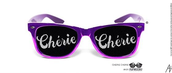 Image of Lunette Chérie Chéri Violet