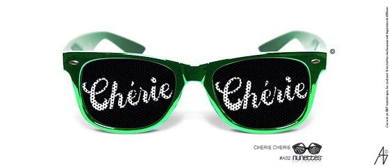 Image of Lunette Cherie Cheri vert