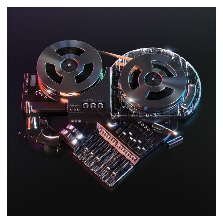 Image of PRINT – NEEONOVUM – 400 x 400mm