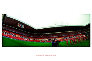 Image of Ltd Ed Print: 1903 The Dons - Lomo: League Cup Final 16.03.2014