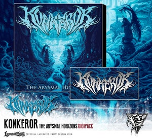 Image of KONKEROR - The Abysmal Horizons LIMITED DIGIPACK