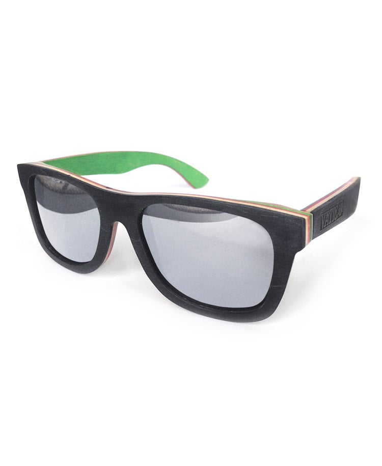 Image of SKATEDECK SHADES BLK/MIRROR
