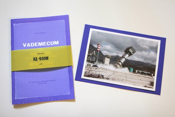 """Image of """"KA-BOOM / part 1"""" limited edition print (last copies)"""