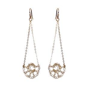 Image of Half Shell Swing Earrings
