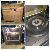 "Image of Ancient Psychic / Sun Blood Stories split 7"" lathe vinyl"