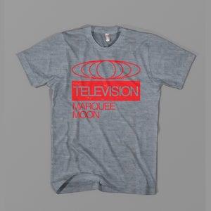 "Television - ""Globe"" Tee - Grey"