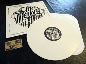 Image of in memory of Man - (limited edition) White Vinyl