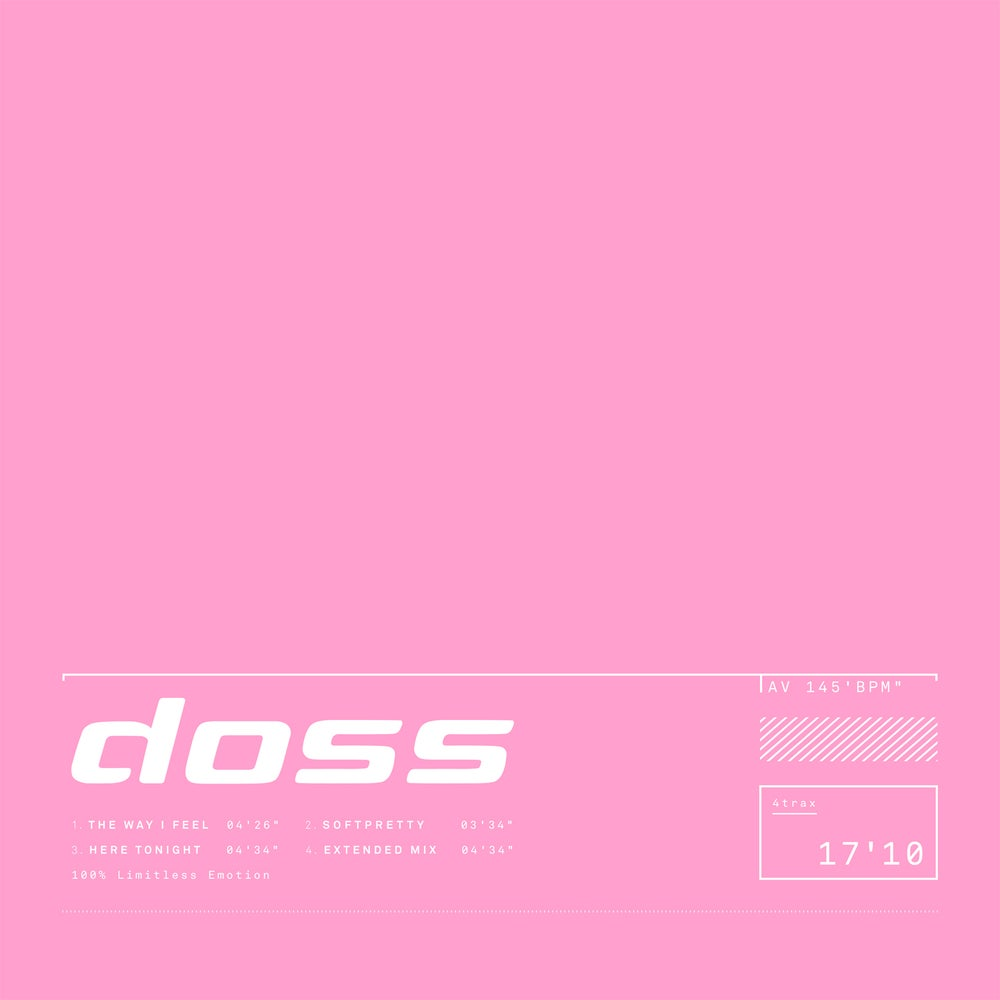 Image of ACE029 - Doss - Doss EP