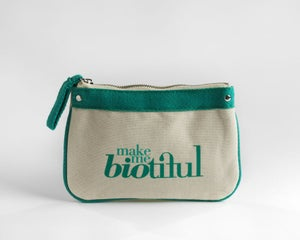 Image of Petite Zipper Pouch Green