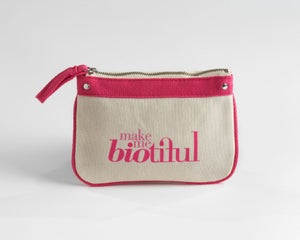 Image of Petite Zipper Pouch Pink