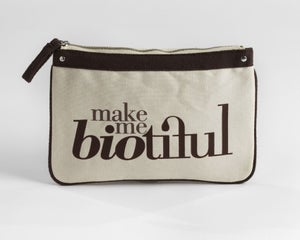 Image of Large Zipper Pouch Brown