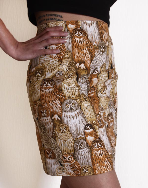 Image of Owls skirt