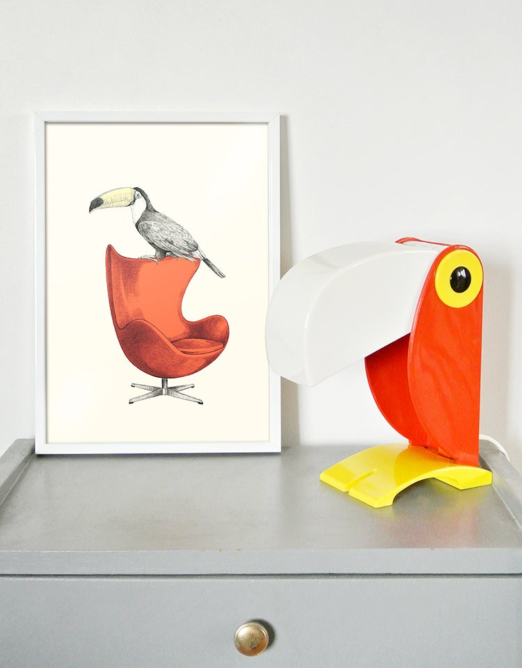 Image of Affiche A4 Toucan