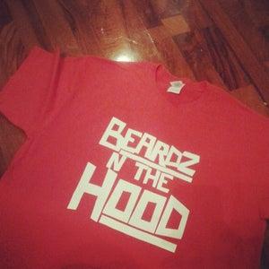 Image of RED BEARDZ N THE HOOD TEE