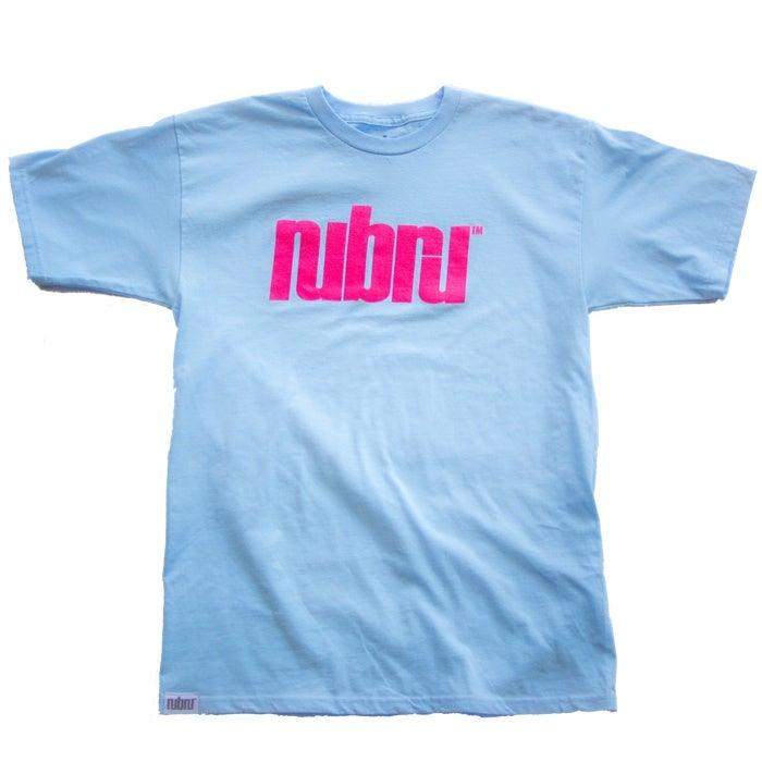 Image of Nubru Logo Tee Baby Blue
