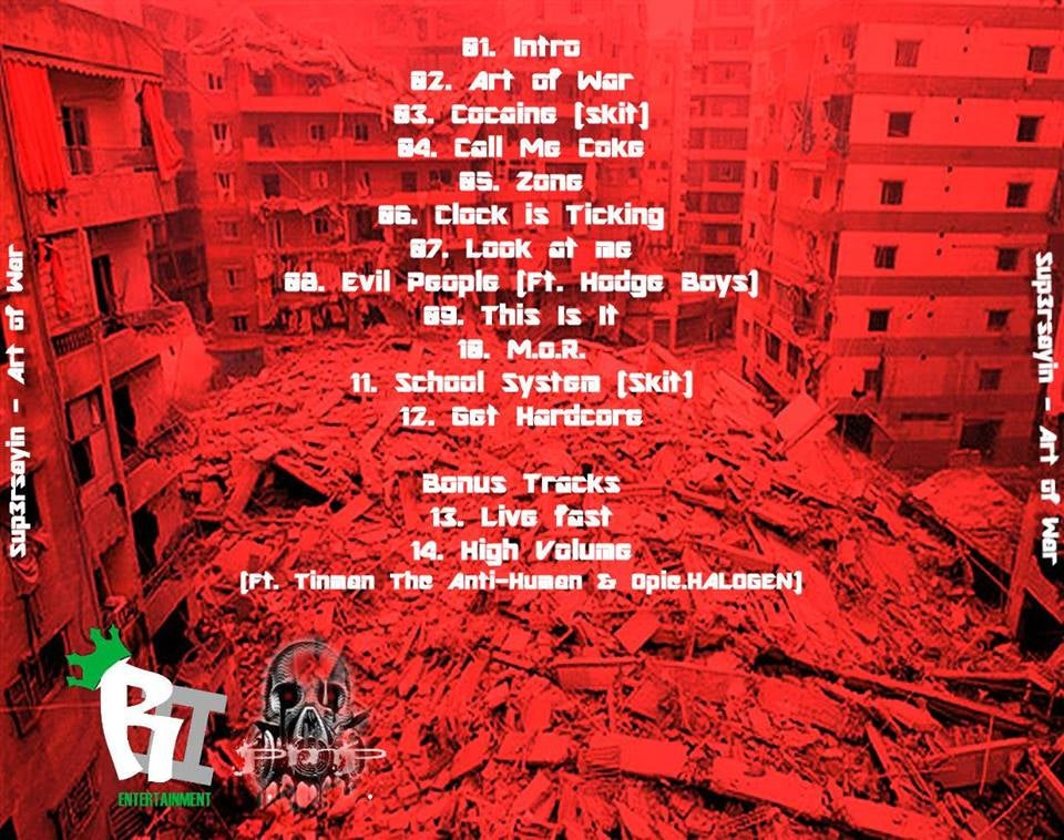 Image of Sup3rsayin - ART OF WAR CD
