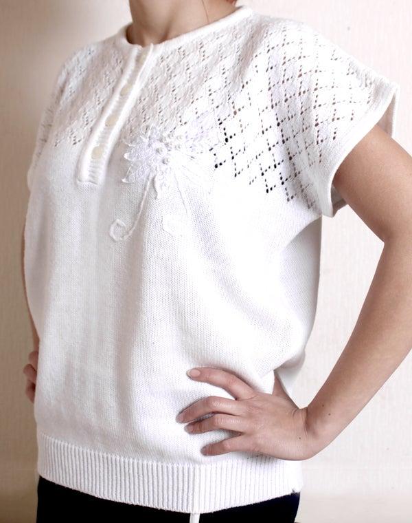 Image of Pull blanc